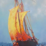 049   Painting of the Jewel of Muscat by Anna Dudchenko