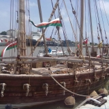 141   The Oman flag flies high on the Jewel of Muscat!