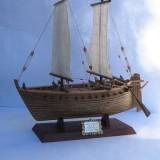 161   As the real Jewel of Muscat sailed into Singapore the model Jewel in Adelaide was completed