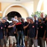 150   Crew members of Jewel of Muscat in bon voyage celebration in Penang