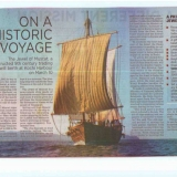 043   Jewel of Muscat article in the India Express