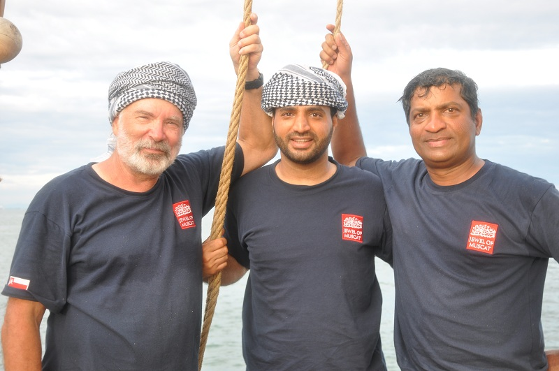 DSC_0085 New crew members--Dr. Tom Vosmer, Zakariya Al Saadi, and Ananda Kumar