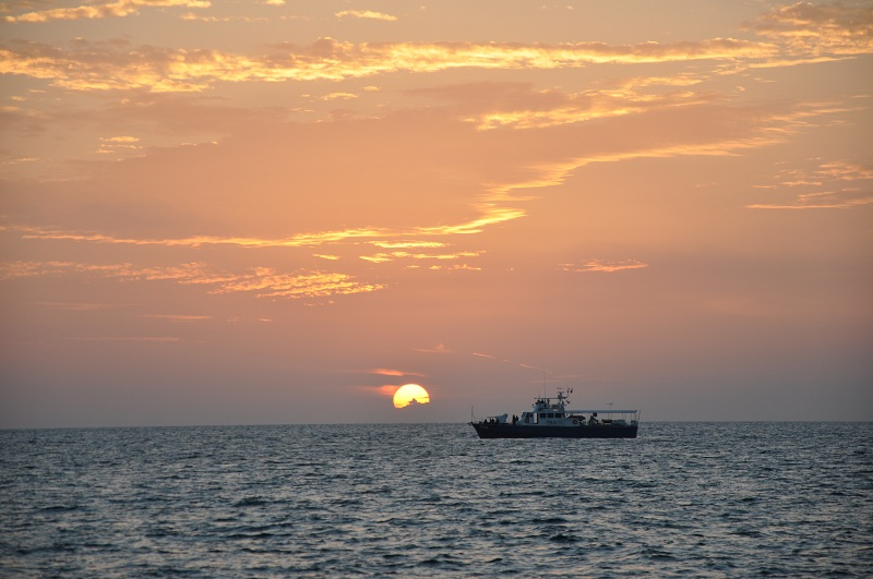 Malaysian Coast Guard vessel PX 10 - our escort through the Straits of Malacca