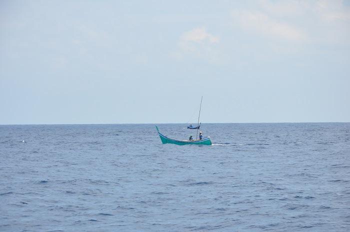 Sumatran fishing boats